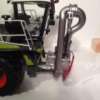 Claas Xerion saddle trac mit SGT Aufliegergüllefass